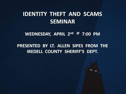 Identity Theft & Scams Seminar