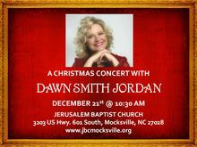 Dawn Smith Jordan Christmas Concert