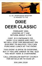 A.I.M. to Dixie Deer Classic