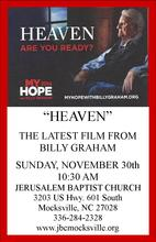 """Heaven"" with Billy Graham"