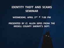 Identity Theft & Scams Seminar
