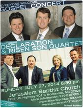 Declaration and Risen Son in Concert